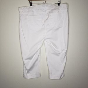 NYDJ Pants - NYDJ Not Your Daughter's Jeans White Capris